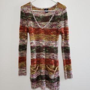 Rue 21 | Boho Sweater Dress Size Medium E27